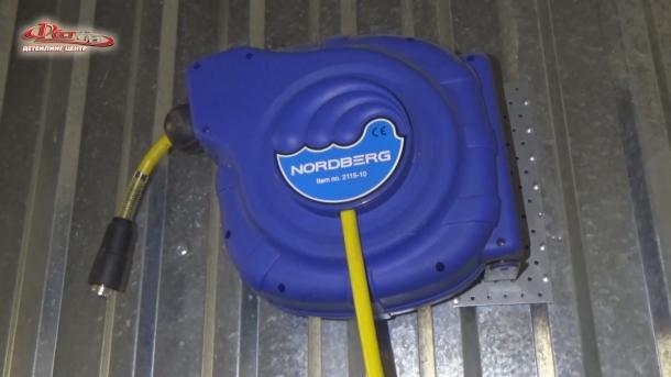 Инерционный барабан для воздушного шланга