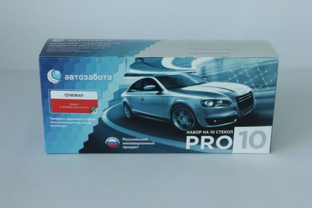 Гидрофобное покрытие для стекла Автозабота PRO10