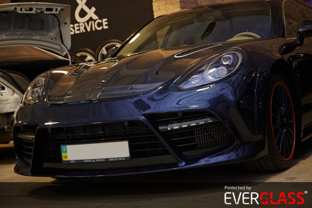 Porsche Panamera Mansory & Everglass Platinum