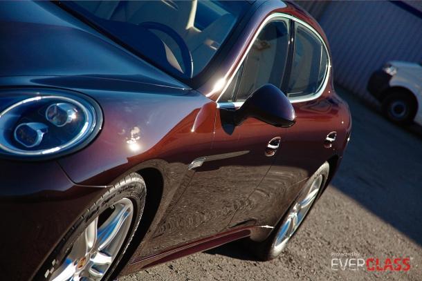 Porsche Panamera 4S Executive покрыт защитным покрытием Everglass