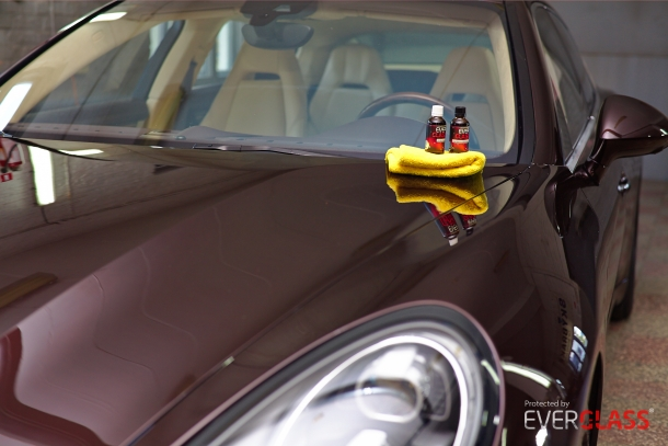Porsche Panamera & Everglass
