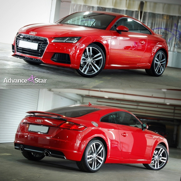 Audi TT Quattro - защитное покрытие Advance