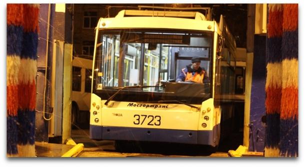 Подопытный троллейбус