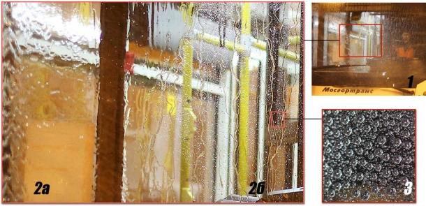 Обработка стекла составом Krytex Glass
